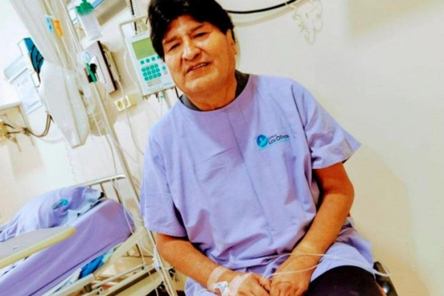 Evo Morales se recupera del coronavirus