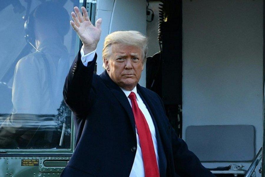 Trump se despide: Nuestro Gobierno no fue normal