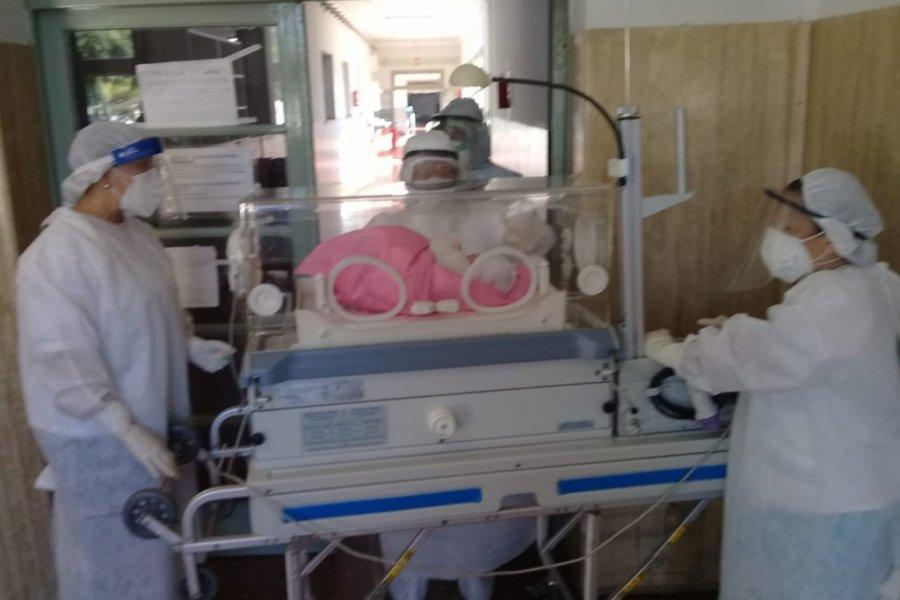 Corrientes: Nació otro bebé en el Hospital de Campaña