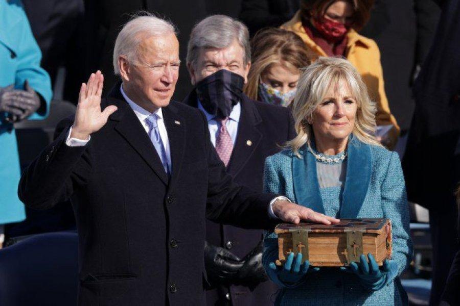 Biden asumió como presidente y EEUU deja atrás la era Trump