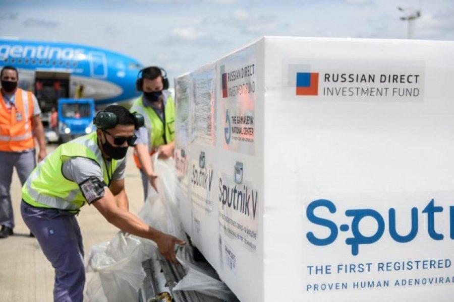 ANMAT aprobó la aplicación de la vacuna Sputnik V para mayores de 60 años