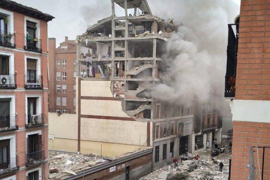 Conmoción en Madrid: al menos 3 muertos y 11 heridos al explotar edificio