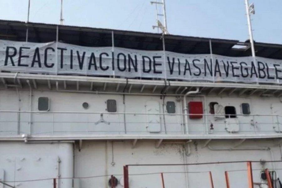 Vías Navegables: Extrabajadores retoman la lucha por la reactivación definitiva