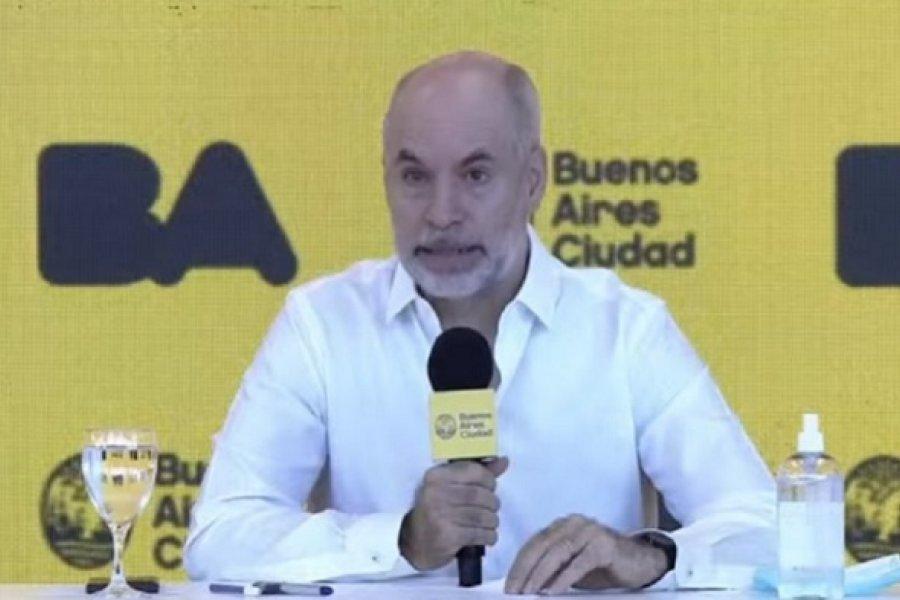 Rodríguez Larreta confirmó el regreso de las clases presenciales para el 17 de febrero