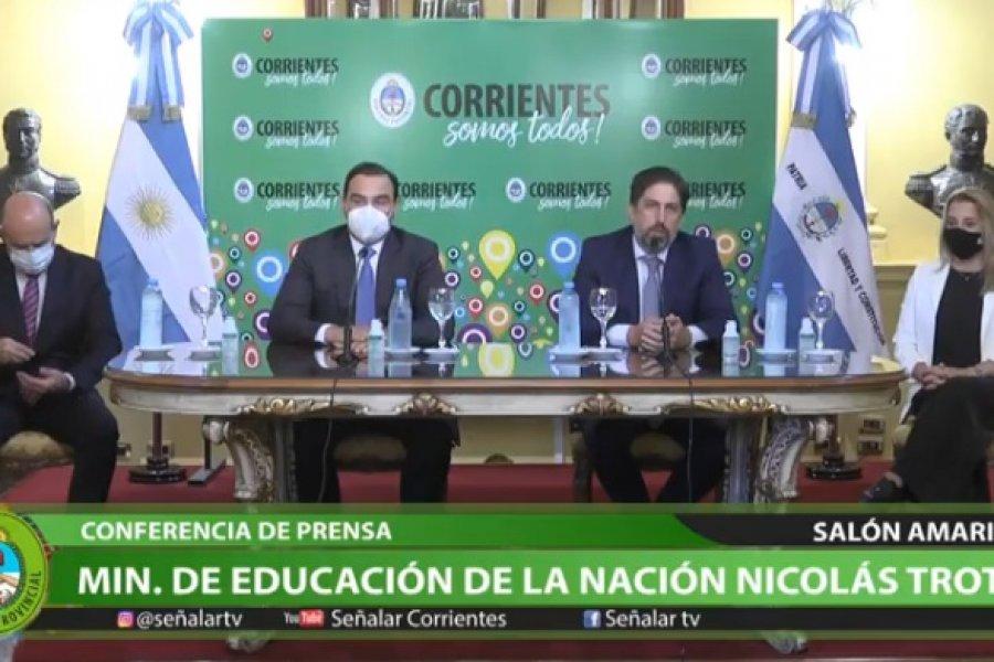 Corrientes se sumará a distritos con clases presenciales en pandemia