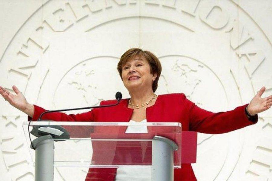 """Kristalina Georgieva definió como """"muy bueno"""" el dialogo con Alberto Fernández"""