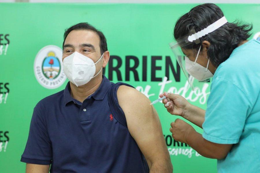 Valdés recibió la segunda dosis de la vacuna contra el coronavirus