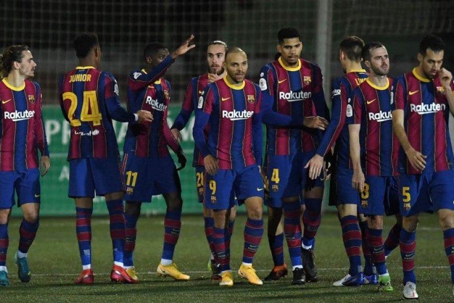 Barcelona sufrió pero venció Cornellà por la Copa del Rey