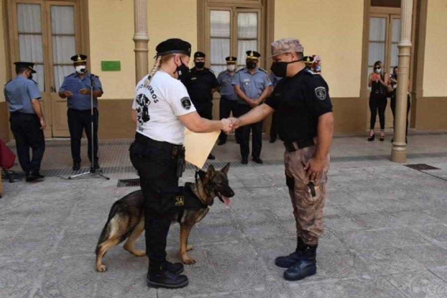 Parka, la nueva integrante de la Policía de Corrientes
