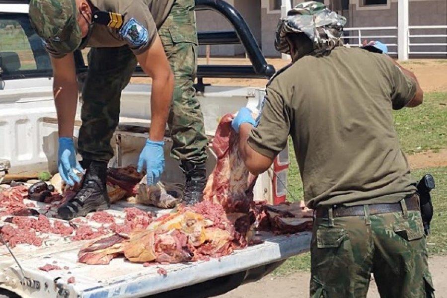 Secuestraron carne no apta para el consumo humano