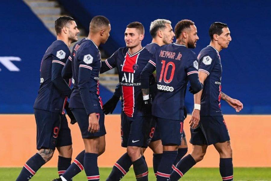 El París Saint-Germain de Pochettio goleó a Montpellier