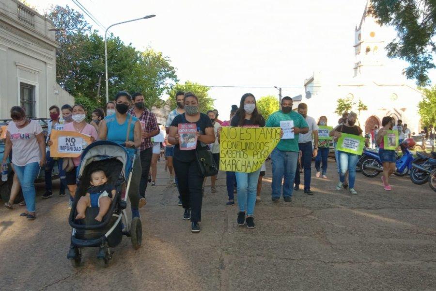 Marcha del silencio pidiendo que se esclarezca el caso Jonathan Herrera