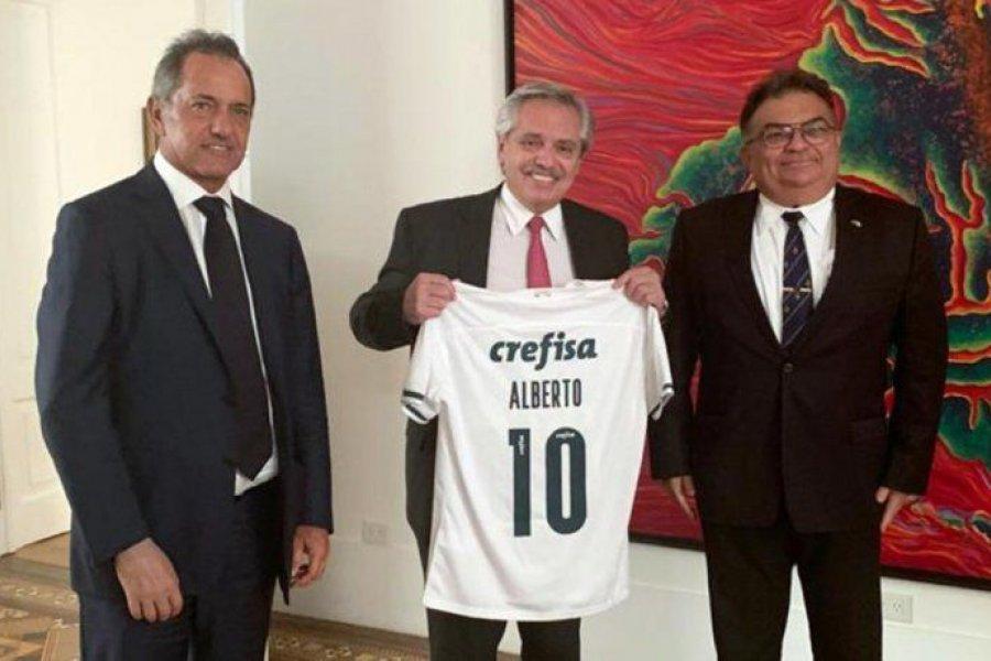 Alberto Fernández recibió a Viana Rocha, hombre clave de Bolsonaro