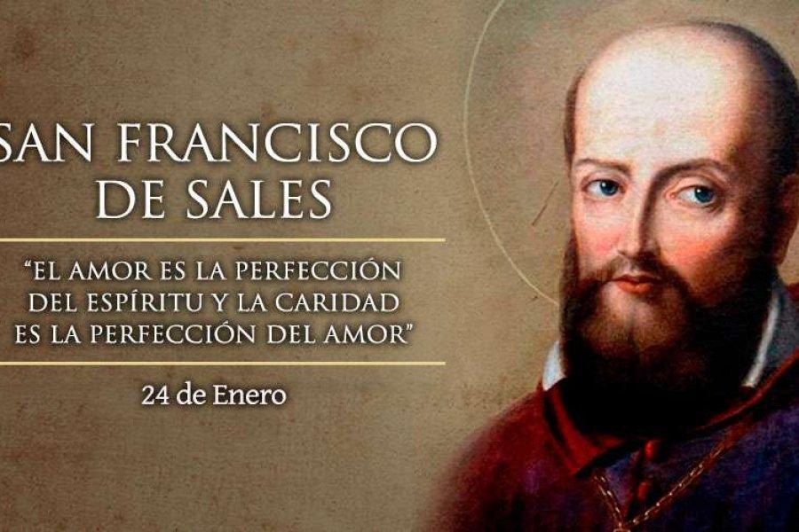 La Iglesia celebra hoy a San Francisco de Sales, patrono de la prensa católica