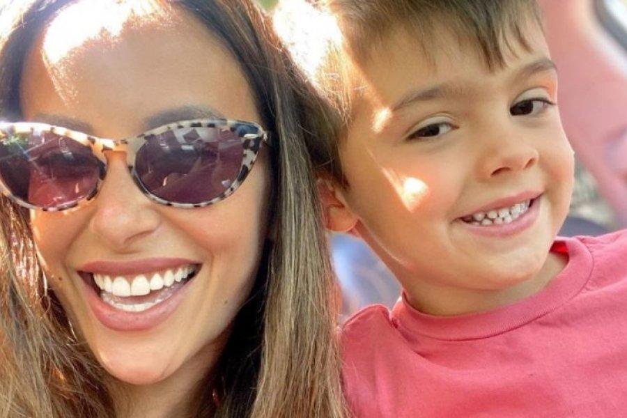 """Lourdes Sánchez mostró el nuevo cuarto de Valentín: """"Mi bebé creció"""""""