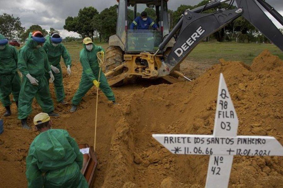 Tras colapso del sistema de salud, el Amazonas brasileño entró en cuarentena
