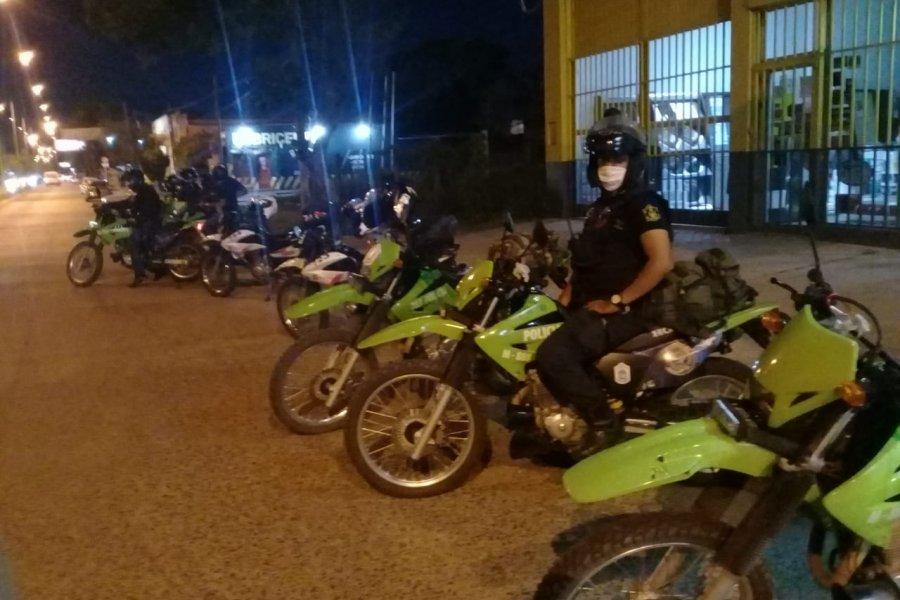 La Policía secuestró 25 motocicletas en Capital