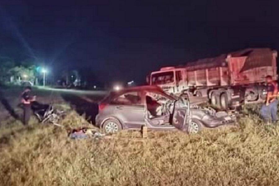 Un muerto y varios heridos tras triple choque en Ruta 12