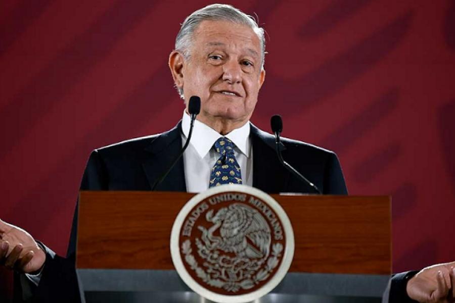 El presidente López Obrador dio positivo en coronavirus