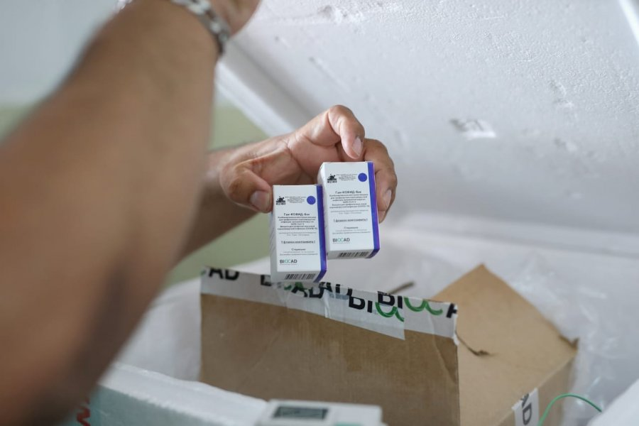 Se completó la vacunación con el segundo componente a 959 trabajadores de Salud