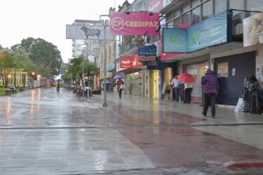 Probabilidad de lluvias y tormentas para Corrientes