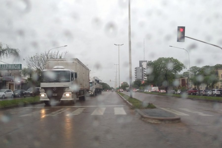 Prevén lluvias intensas durante todo el día en Corrientes