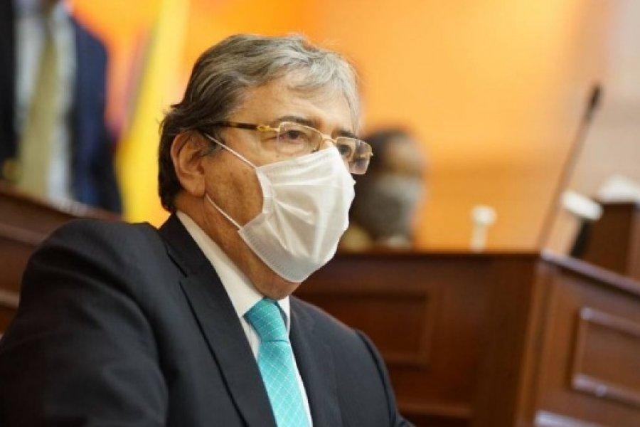 Coronavirus: Falleció el ministro de Defensa de Colombia