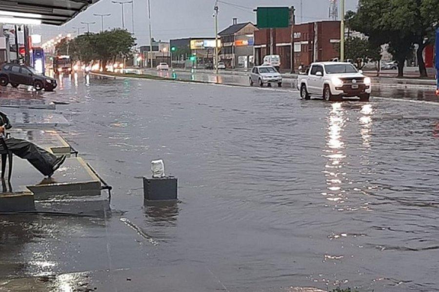 En Corrientes llovió 60 milímetros en una hora