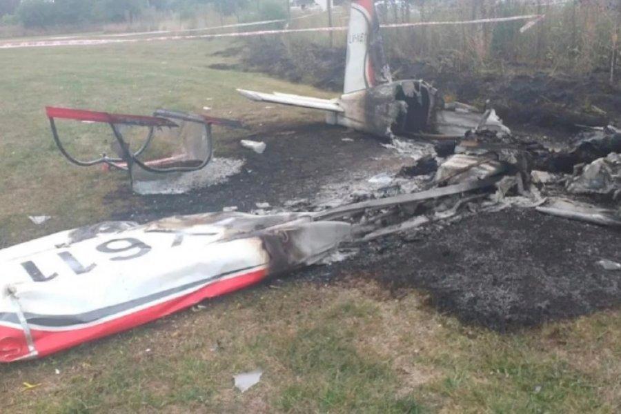 Cayó una avioneta en el Aero Country Club de General Rodríguez: hay dos muertos