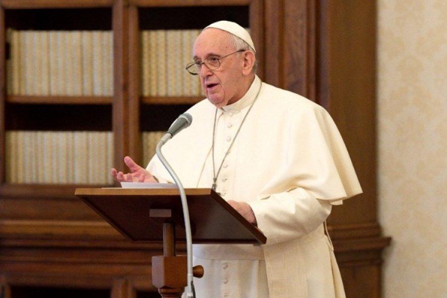El Papa advirtió que el Holocausto puede volver a suceder