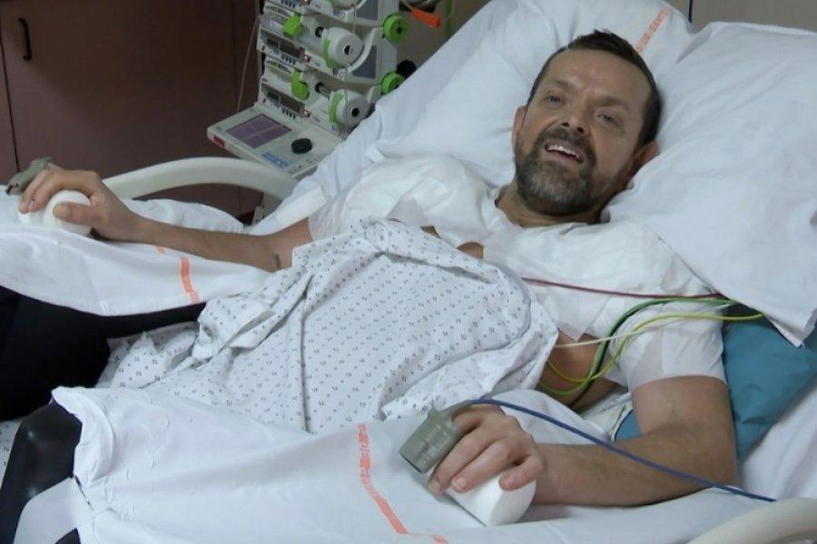 Evoluciona favorablemente el primer hombre sometido a un transplante de hombros y brazos