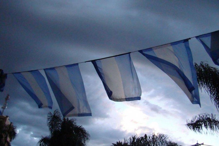 Sin lluvias pero con cielo parcialmente nublado en Corrientes