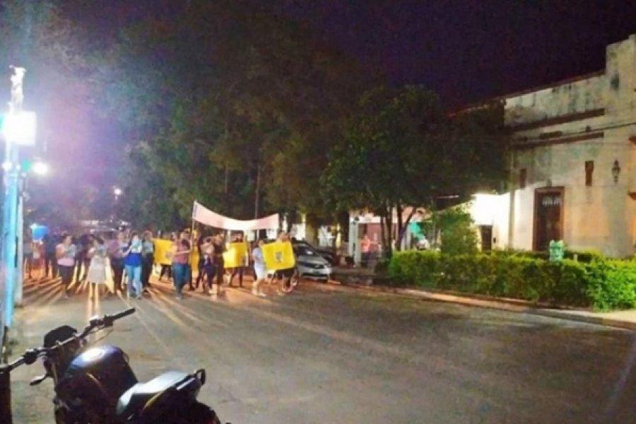 Crimen de Merlo: Reclamaron justicia frente a la Comisaría de Itatí