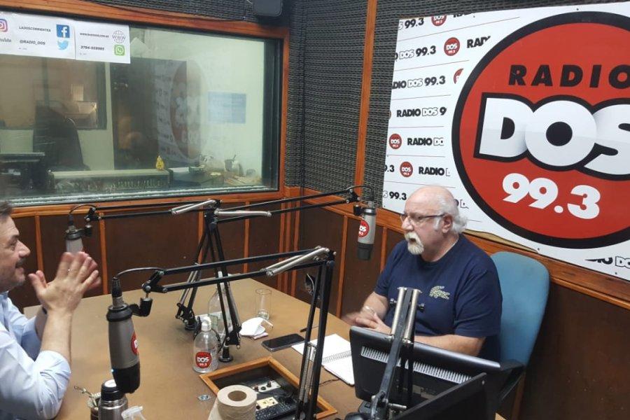 Daniel Caran no descartó una nueva versión del Frente de Todos en Corrientes