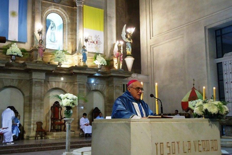 Monseñor Castagna: Jesús enseñaba como maestro a tiempo completo