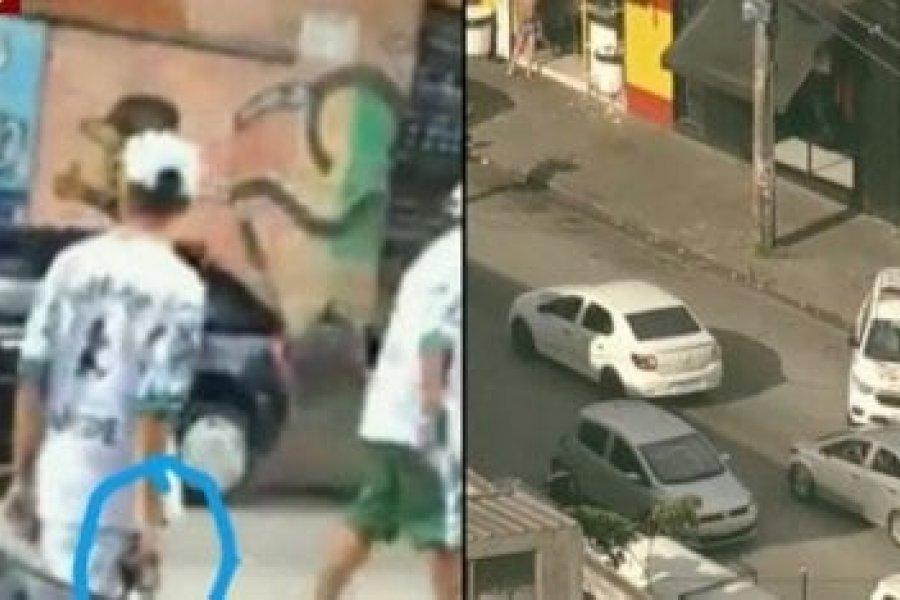 Un muerto producto de un enfrentamiento entre hinchas de Palmeiras y Corinthians