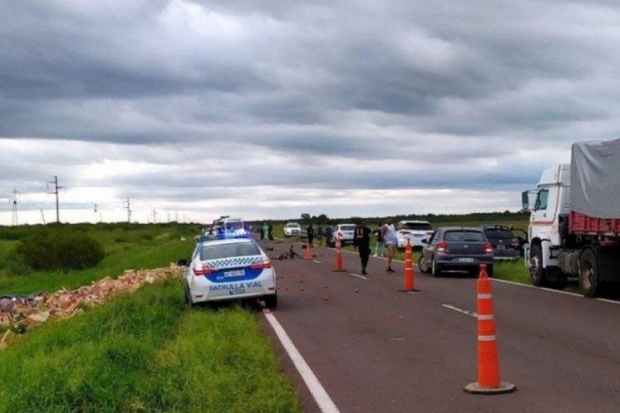 Chaco: 4 muertos en un siniestro vial por Ruta 16