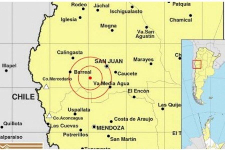 Un nuevo sismo de 5 grados afectó a San Juan