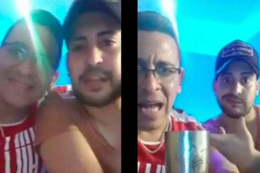 Dos policías convocaron a una fiesta clandestina por Facebook live