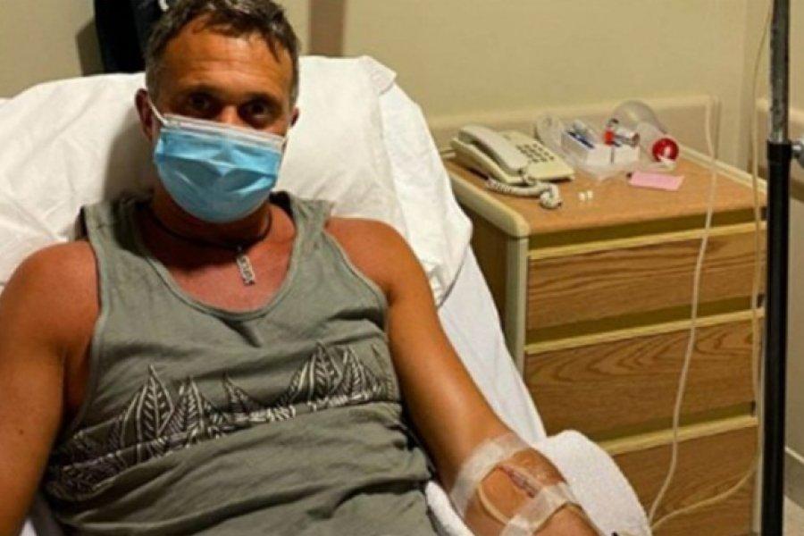 Se complicó la salud de Sergio Lapegüe: Fue derivado a terapia intensiva
