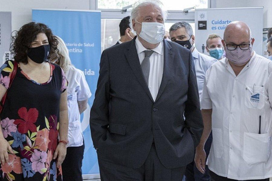 Ginés González García expone ante la comisión de Salud de Diputados