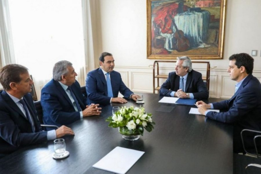 Alberto Fernández recibirá este miércoles a Gustavo Valdés en Casa Rosada