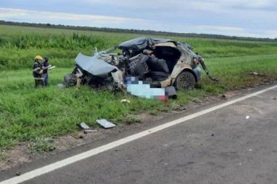 Cuatro personas murieron en un accidente cuando volvían de Itatí