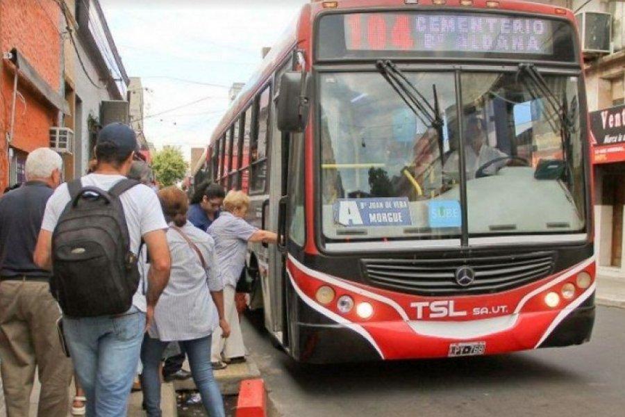 Empresas de transporte en Corrientes con más de $500 millones