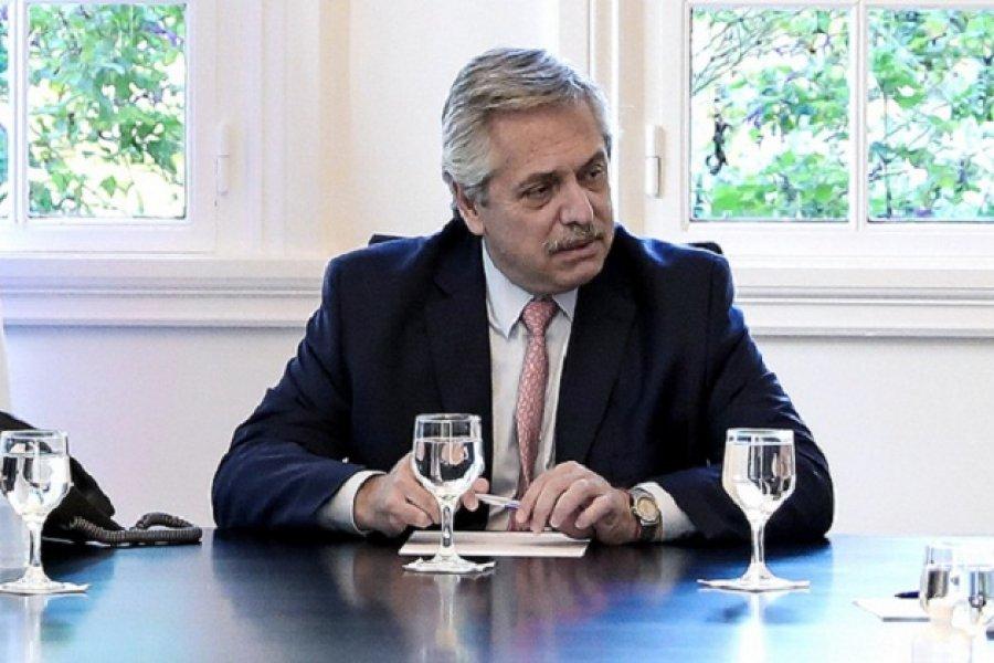 Alberto Fernández recibió al gobernador Valdés en Olivos y confirmó que estará en Yapeyú
