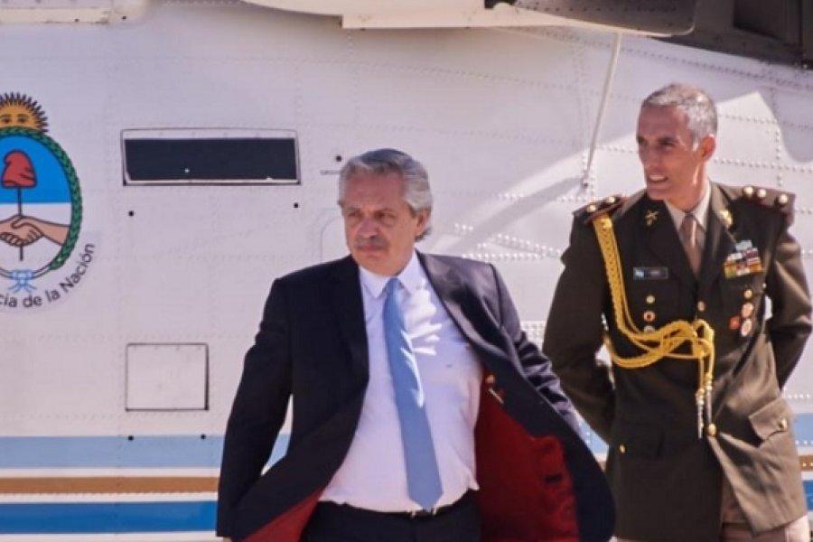Alberto Fernández llegará a Yapeyú junto a Camau y serán recibidos por Valdés