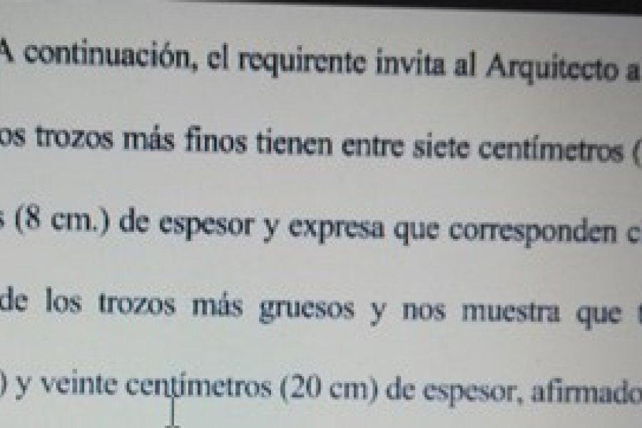 Desde ECO desmintieron acusaciones del Secretario de Obras Públicas de Ascúa