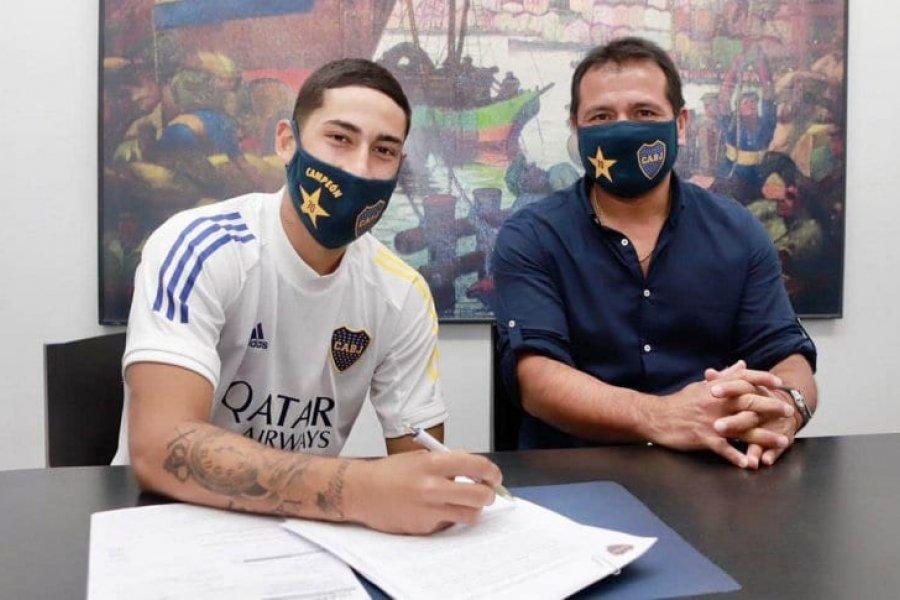 Alan Varela renovó su contrato con Boca con una cláusula millonaria