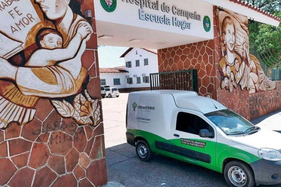 Tres muertos y 41 pacientes en terapia intensiva en el Hospital de Campaña