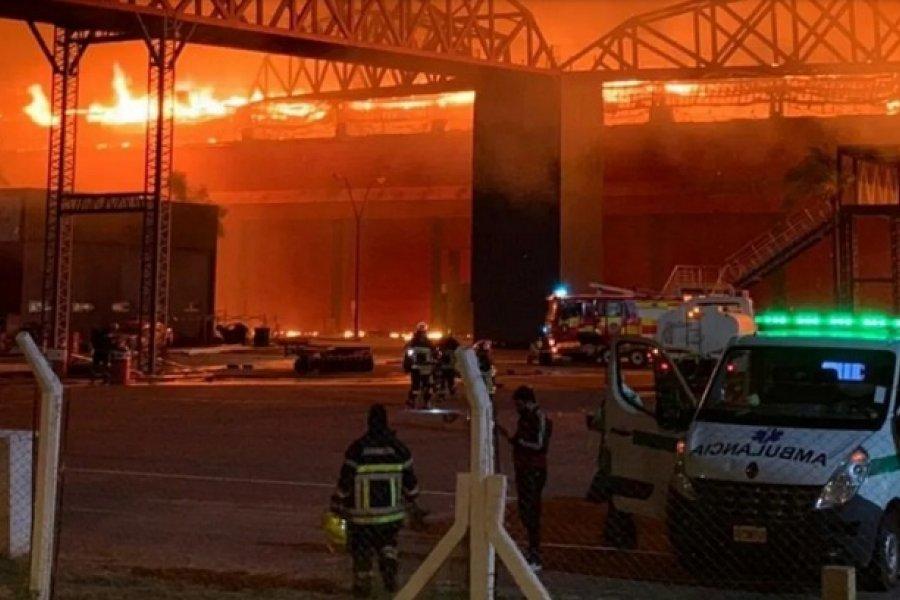 Se incendió el Autódromo Internacional de Termas de Río Hondo
